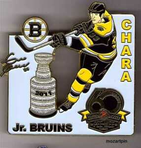 2019 QUEBEC PEE WEE TOURNAMENT MINOR HOCKEY PIN CHARA BOSTON Bruins