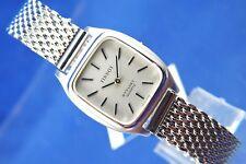 Ladies Vintage Retro Tissot Swiss Watch Rare Quartz New Old Stock NOS 1970s