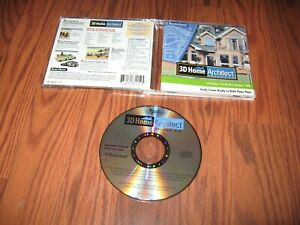 3D Home Architect Deluxe 3.0 (PC, 2001) Mint CD-ROM Program