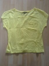 Women's Size Small Yellow Box Top From French Connection