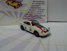"""Brekina 16313 # Porsche 911 G #59 Baujahr 1976 """" Brumos Porsche """" weiß 1:87"""
