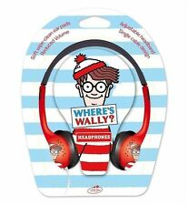 Where's Wally Bambini Cuffie Auricolari Bambini Little Star Ridotto Volume