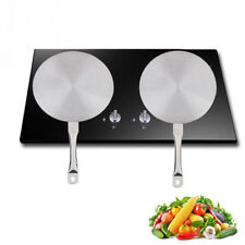 Stainless Steel Induction Disk 24CM Cooktop Heat Converter Cooker Disc Plate