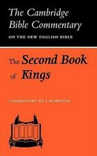 The Second Book of Kings (Cambridge Bible Commentaries on the Old-ExLibrary