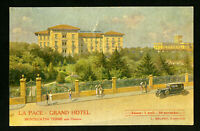 Italy Early 1900s Grand Hotel Postcard