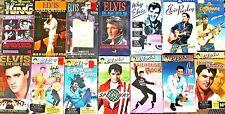 Huge Lot 15 Elvis Movies VHS Tapes Jailhouse Rock Viva Las Vegas Aloha Hawaii