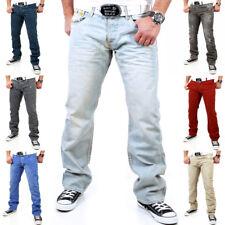 Tazzio Herren Jeans Clubwear Hose Jeanshose Cargo Chinohose Chino Neu