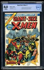 Giant-Size X-Men #1 CBCS VF 8.0 White Pages