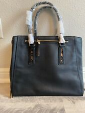 Brand new Ladies Leather  Stella & Dot Tech Bag Hand Bag Black