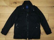 Hamnett Black Canvas Warm Jacket Military style Men's size L