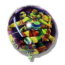 """NINJA TURTLES MASKED 18""""INCH FOIL BALLOON HAPPY BIRTHDAY Kids Easter balloon"""
