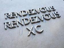03-07 Buick Rendezvous CX Tailgate Emblem 10426421 Logo Nameplate Decal Ornament
