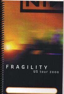 NIN - NINE INCH NAILS - TOUR - ITINERARY - 2000