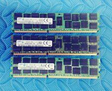 Lot of 3 Samsung 16GB 2Rx4 PC3-12800R-11-12-E2-03 M393B2G70QH0-CK0 1439