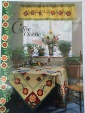 Coffee Cloche Quilt Table, Place Mats & Table Runner Pattern by Pam Bono Designs