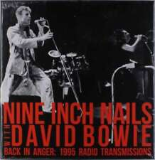 Nine Inch Nails With David Bowie - Back In Anger - The 1995 Radio Tran NEW 4 x L