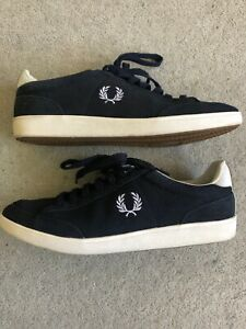 Fred Perry Blue Suede Shoes 11