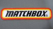 "MATCHBOX Cars Iron-On Collector Jacket Patch 5.75""x 1.25"" New!"