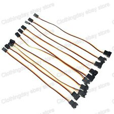 10pcs 20cm 8-inch Molex 3Pin Male to 3pin Female Fan Power Extension Cable Wire