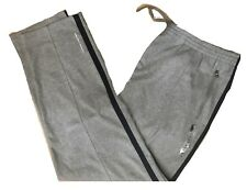 Ralph Lauren Big and Tall Gray W/Blue Line, Pony Icon Track Pants,  Size 4XLT