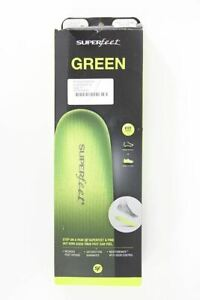 Superfeet green insoles reduces foot fatigue size UK4-5.5 E RRP35