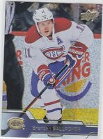 16/17 UD...BRENDAN GALLAGHER...RAINBOW SPECKLED GOLD FOIL..CARD # 101..CANADIENS