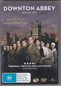 Downton Abbey - Season Two - DVD (Brand New Sealed)  6 x DVD Regions 2,4,5 PAL