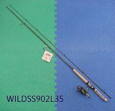 Shakespeare Wild Series 9' Salmon Steelhead Spinning Combo WILDSS902L35