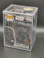 Darth Vader Futura Star Wars Special Edition Funko Pop #157 Hard Stack *Sealed*