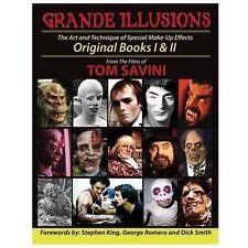 Grand Illusions : Original Books I and II by Tom Savini (2013, Paperback)