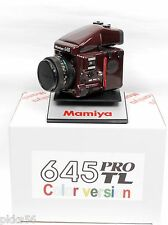 Mamiya 645 Pro Tl Special Ultra-Rare Edition ( Color Set ) Wine Red !