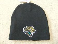 Jacksonville Jaguars Black Officially Licensed NFL Beanie Hat-BNWT's