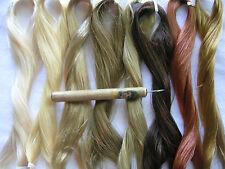 Pro Hair Rooting Tool 4 American Girl/Vintage/Ooak Dolls + 1 skein Saran