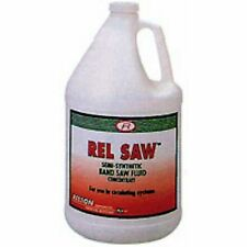 Case Of 4 1 Gallon Jugs Of Relton Rel-Saw Water Soluable Band Saw Cutting Fluid
