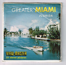 VIEW-MASTER - S5 A963 GREATER MIAMI Florida | Buy 3 or More For Free Shipping