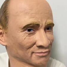 New Cosplay Mr Putin Full Head Latex Mask New Cool Halloween Costume Party Toy