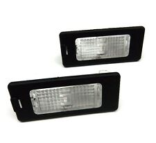 VW CC PASSAT B6 B7 TOURAN SKODA OCTAVIA SEAT IBIZA Number Plate Lights Lamp PAIR