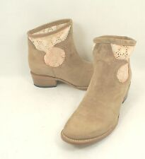 Freebird by Steven 'Cabcro' Bootie Beige Leather Short Boots Size 9 M