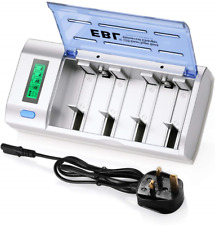EBL Universal LCD Display Battery Charger with Discharge Function for AA, AAA, D