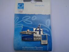 ATHENS 2004  OLYMPIC PIN SWIMMING SPORT-DAYS OF THE GAMES-16/08/2004