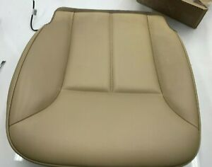 2006-2012 MERCEDES GL ML R FRONT RIGHT PASS SEAT LOWER LEATHER CUSHION BEIGE OEM