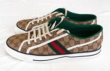 Gucci Tennis 1977 Original Canvas  Rubber Sole Men's Sneakers Size Size 12.5
