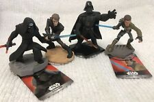 Disney Infinity 3.0 Used Figure Lot - Kanan Jarrus, Kylo Ren, Darth Vader & more
