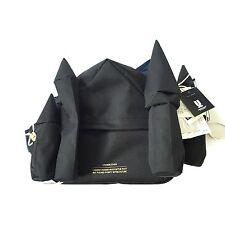 NWT Undercover JAPAN Men's RUNWAY Black Castle Fanny Pack Bag 2016 DS AUTHENTIC