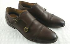 Florsheim Double Monk (Men's Sz 13D) Brown Oxford Leather Dress Shoes