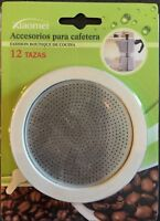 3 JOINTS + FILTRE CAFETIERE ITALIENNE 12 TASSES