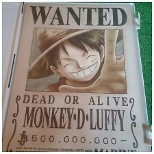 Mugiwara Store One Piece Wanted Poster Luffy Zoro Nami Usopp Sanji Robin Set 9