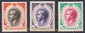 EBS MONACO 1959 - Rainier III - Prince Raindeer - YT 504-507 MNH**