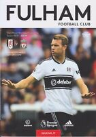 Fulham V Liverpool 2019 Premier League PROGRAMME