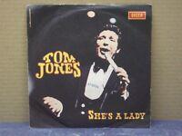 TOM JONES - SHE'S A LADY - 45 GIRI - VG/VG+